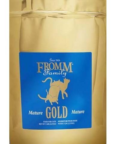 FROMM | Gold - Nourriture pour chat âgé et moins actif - Canard / 2.27 kg (5 lbs)