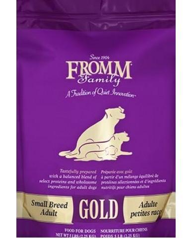 FROMM | GOLD - NOURRITURE POUR chien adulte (petite race) - Poulet / 2.3 KG (5 LBS)