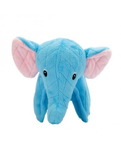 ZEUS | Safari | Jouet pour chien robuste - Éléphant bleu