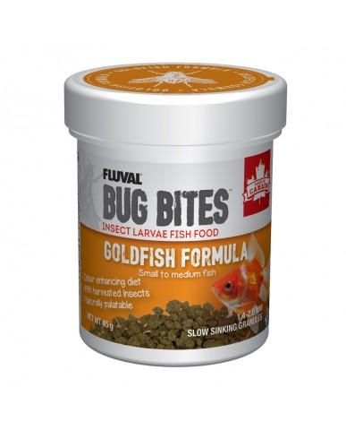 FLUVAL | Bug Bites Microgranulés pour poissons rouges - PETIT/MOYEN /  45G