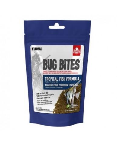 FLUVAL |  Bug Bites granulés pour poissons tropicaux - MOYEN/LARGE / 125 g