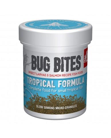 FLUVAL | BUG BITES MICROGRANULÉS POUR POISSONS TROPICAUX - PETIT/MOYEN / 45g