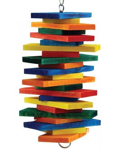 Zoo-Max | Fun-max - Jouet multicolore pour petit perroquet