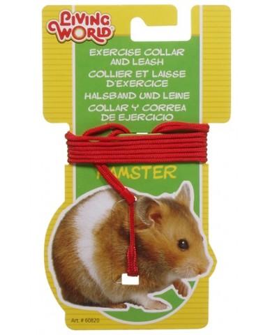 living world | Laisse & collier ajustable pour hamster